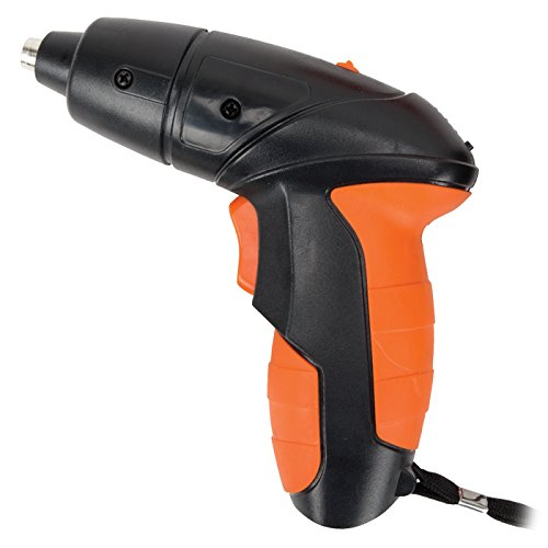 Armor All Electric Screwdriver Cordless Kit, Lithium Power Rechargeable 4.8-Volt, Best, Bits, With Case
