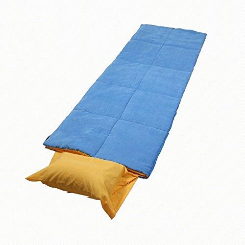QFFL shuidai Sac de Couchage Enveloppe/Adultes / Léger Portable/Extérieur & Intérieur Sac de Couchage rectangulaire en Coton créative (190 + 35) * 75cm