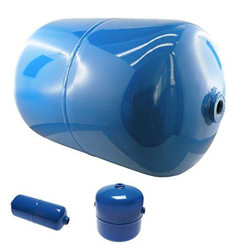 Druckluftbehälter für den stationären Einsatz, bis 11 bar, Kessel, verschiedene Größen (Inhalt: 4,8 Ltr, Ausführung: 2 Anschlüsse)