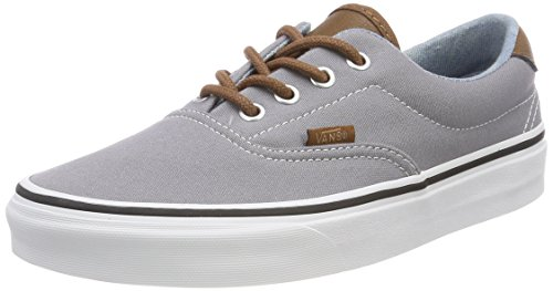 Vans Era 59, Sneaker Uomo, Grigio (C/Yellow), 46 EU
