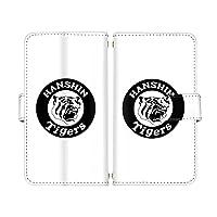 スマ通 iPhone13Pro iPhone 13 Pro 国内生産 ミラー スマホケース 手帳型 Apple アップル アイフォン サーティーン プロ (N.球団ロゴ(白×黒)) 阪神タイガース tigers