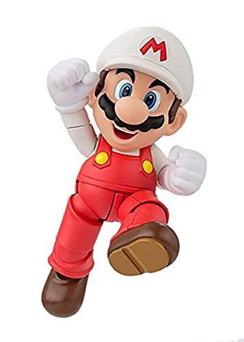 Bandai Tamashii Nations S.H.Figuarts Fuego Mario Super Mario Figura de acción
