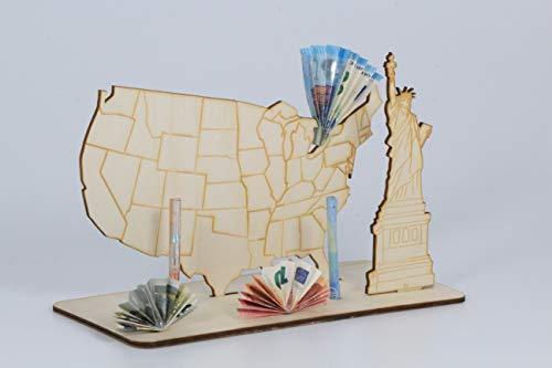 Geldgeschenk, USA, Reisen, Urlaub