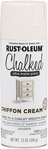 Rust-Oleum 302596 Not Available Chalked Ultra Matte Spray Paint, 12 Ounce (Pack...