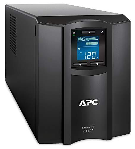 Schneider Electric SMC1500IC SAI Inteligente UPS C de APC de 1500 VA, LCD, 230V con SmartConnect, 43.9cm x 21.9cm x 17.1cm,...
