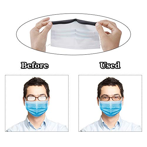 41sTXKQq3ML - MP mypole Anti Fog Nose Bridge Strip - 5 Pack Washable Reusable Silicone Nose Bridge Pad Face Inner Support Frame Prevent Eyeglasses from Fogging Bracket