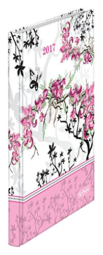 Herlitz 50006090 Buchkalender 2017 Ladylike Bloom, A5