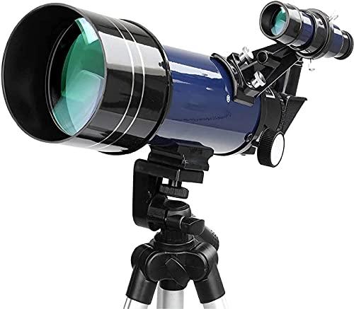 Telescopio monocular Telescopio HD de Alta Potencia para observación de Estrellas Profesional Revestimiento de Lente Objetivo de 70 Mm Interactuar personalmente Explorar Las Estrellas