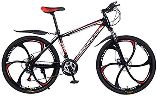 WJJH Mountain Bike for Men Land Rover 26 Inch with 21 Speed Dual Disc Brakes Suspension Travel Camping Bicycle,2