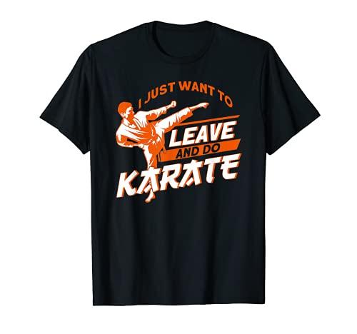 Karate Kampfsport Martial Arts Sportler T-Shirt