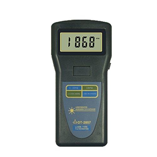 TR-Z-DT-2857 Laser Umdrehungsmesser Drehzahlmesser Oberfläche Geschwindigkeitsmesser Auto Meter 2,5 ~ 99.999 U/min Drehmomentmessgeräte