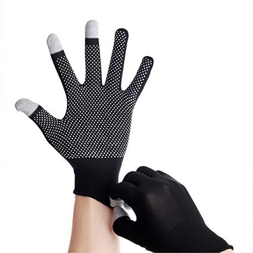 Abracing Fahrradhandschuhe, dünn, rutschfest, Touchscreen, Vollfinger-Handschuhe für Bergsteigen Sport