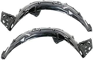 Partomotive For 16-19 Coupe & Sedan Front Splash Shield Inner Fender Liner Panel SET PAIR