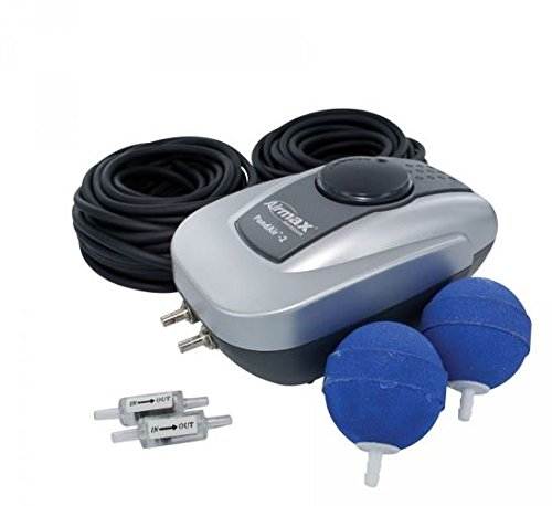 CrystalClear PondAir 2 Aerator Kits, Aeration for Water Gardens or Koi Ponds Up to 1,000 Gallons