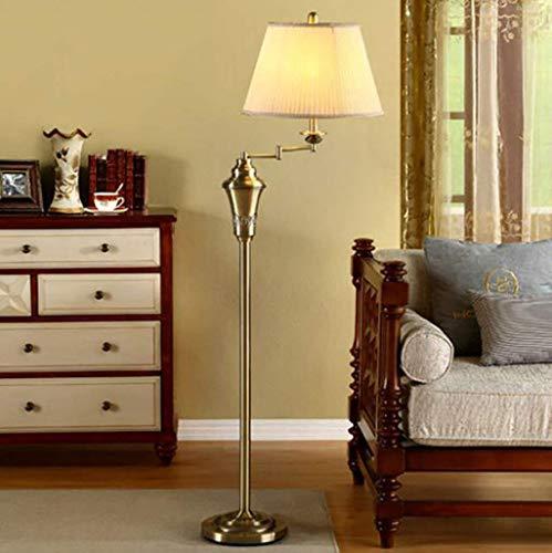 ZLININ Sala de estar, hotel, dormitorio, lámpara de pie -Lámpara de pie moderna minimalista estudio lámpara creativa europea personalidad país lámpara de pie