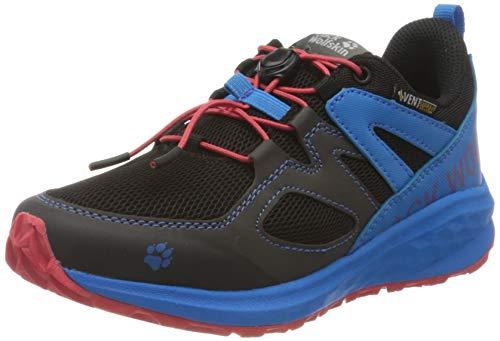 Jack Wolfskin Unleash 2 Speed Vent Low K Walking-Schuh, Black/Blue, 38 EU