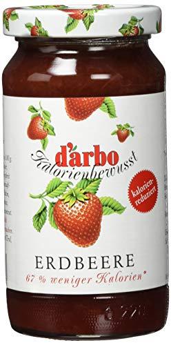 Darbo Kalorienreduziert Erdbeer, 6er Pack (6 x 220 g)
