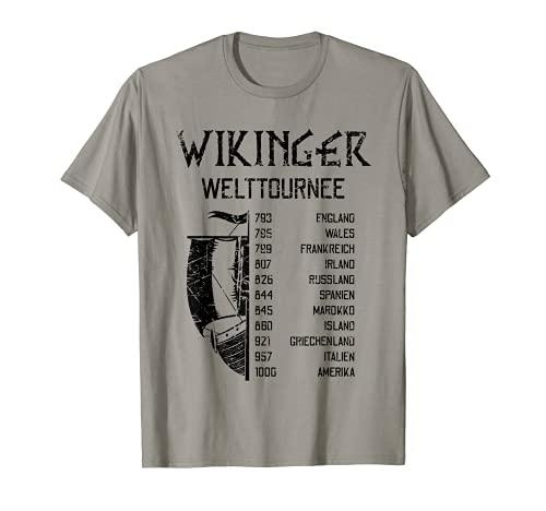 Wikinger Welttournee | Viking World Tour | Mythologie T-Shirt