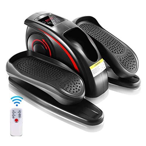 WYZQ Under Desk Cycle, Indoor-Mini-Pedal-Trainingsgerät Mit Eingebautem Display-Monitor, Fitness-Treppen-Stepper-Trainingsgerät Für Den Indoor-Sport Im Bürohaushalt