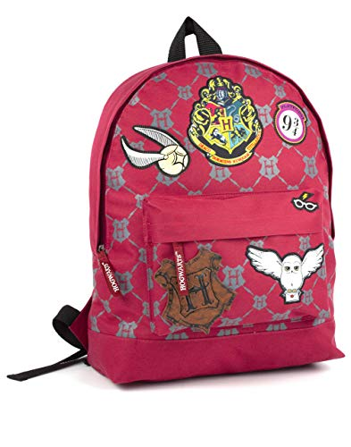 HARRY POTTER Hogwarts Mochila Bolsa Patch Pin