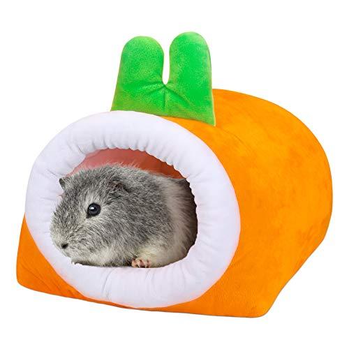 POPETPOP Meerschweinchen Bett Gemütliches Versteck für Zwerg Kaninchen Hasen Frettchen Hamster Igel Chinchilla Bartagame Zubehör - Groß