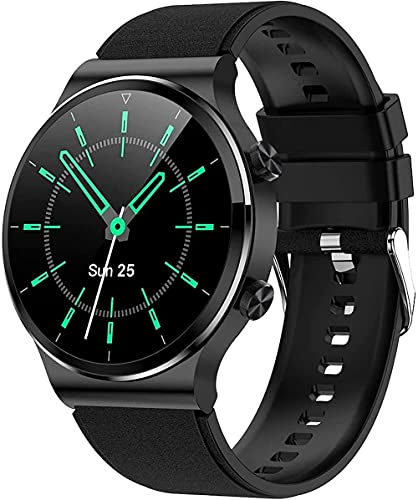 wyingj Hombres s Reloj Inteligente Reproductor De Música Bluetooth Llamada Reloj Inteligente Deportes Reloj Smartwatch-C