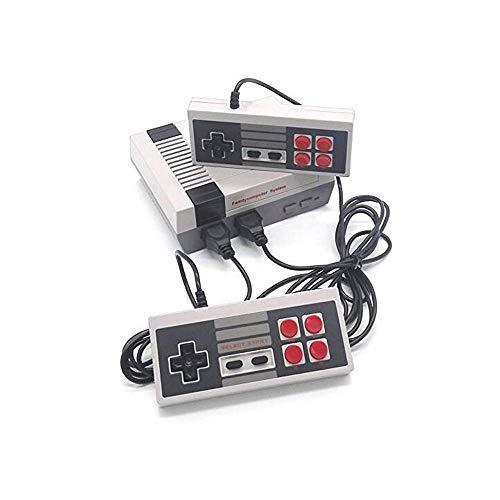 GameAge Classic Family Game Consoles Built-in 600 TV Video Games with Dual Controllers,Professional System for NES Game Player
