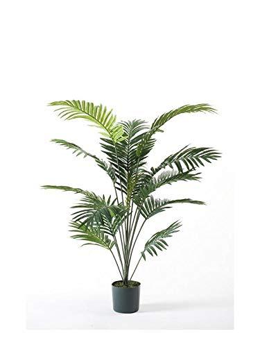 artplants.de Set 'Palmera Kentia Artificial + Spray de protección UV' - Palma Kentia Decorativa SEYA, 150cm
