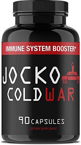 Jocko COLDWAR Immune System Support - Zinc, Vitamin C, D3, Garlic Extract - 30...