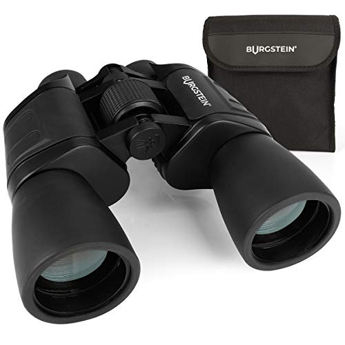 Burgstein® Binocolo Professionale 16x50 - Compatto per Adulti, Binocolo Professionale Potente per Osservazione, Con Copriobiettivo, Panno di Pulizia e