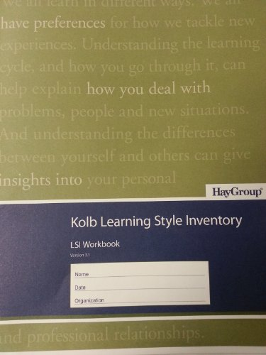 Kolb Learning Style Inventory (Pack of 10 Booklets)