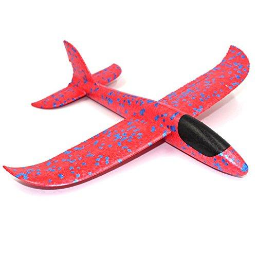SODIAL 1 Unids EPP Foam Hand Throw Avion Avion de Lanzamiento Al Aire Libre Plane Kids Regalo de Juguete 34.5*32*7.8cm Interesante Juguetes