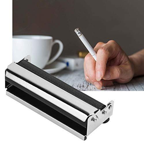 Lecxin Rollo de Cigarrillos, Máquina de Fumar de Metal, Máquina de Fumar, Rollo de Tabaco, Máquina de Liar Tabaco para Amantes de los Cigarrillos, Máquina de Liar