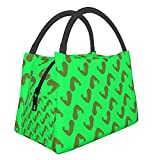 Arm Bodybuilder Lunch Bag Cooler Bag Women Tote Bag Insulated Lunch Box Water-Resistant Thermal Lunch Bag Soft Liner Lunch Bags For Women/Picnic/Boating/Beach/Fishing/Work