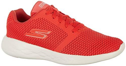 Skechers Go Run 600 - Refine Donna US 8.5 Rosso Scarpe Ginnastica