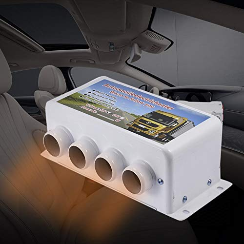 WXJWPZ 12V500W-1000W Auto Elektroheizung Defroster 12V24V Parkheizung Geräuscharme Autoheizung Abtauung Zusatzparkheizung