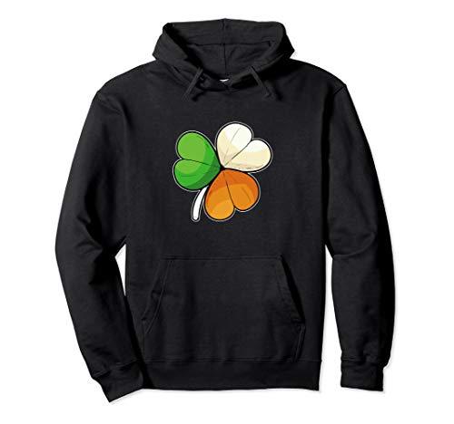 Clover Flag Irish Citizen Pullover Hoodie