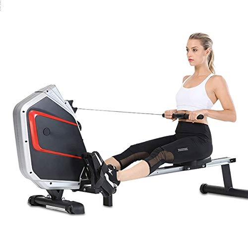 Buy Rowing Machine for Home Use Foldable Silent Magnetic Control, Male and Female Weight Loss Muscle...