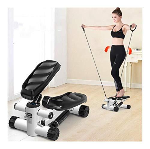 QAZXSW Mini Stepper Fitness Cardio Exercice, Fitness...
