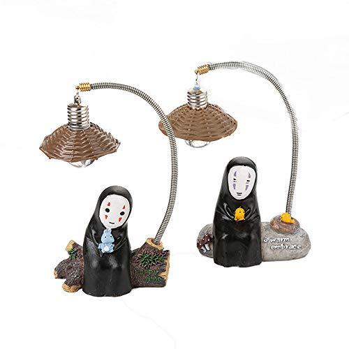 Nachtlicht1pcs Keine Gesicht Mann LED Nachtlicht Kinder Lesen Spielzeug Geschenk Japanischen Anime Studio Cartoon Charakter LED Touch Lampe Schlafzimmer Dekorative Random delivery