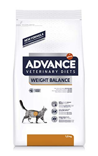 Advance Veterinary Diets Weight Balance Cibo per Gatti - 1.5 kg