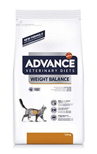 Advance Veterinary Diets Weight Balance - Pienso para gatos con tendencia a la...