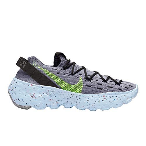 Nike Space Hippie 04, Zapatillas para Correr para Hombre, Wolf Grey Volt Black Dark Smoke Grey, 41 EU