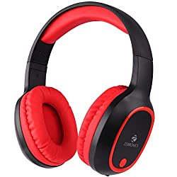 Zebronics Zeb-Thunder Wireless BT Headphone Comes with 40mm Drivers, AUX Connectivity, Built in FM, Call Function, 9Hrs* Playback time and Supports Micro SD Card (Red),CHINA ELECTRONICS SHENZHEN COMPANY,ZEB-Thunder,Bluetooth;Wired head phone,Bluetooth;Wired headphones,head phone,head phones Zebronics,headphone with mic,headphone with microphone,headphones,headphones Bluetooth;Wired,headphones for mobiles,headset