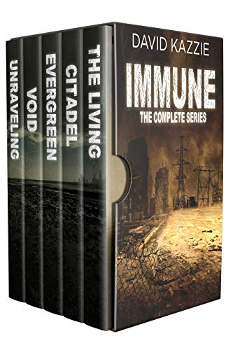 THE IMMUNE - The Complete Post Apocalyptic Survival Series: Books 1 - 5 by [David Kazzie]