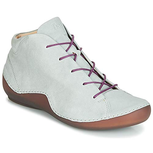 Think! Damen KAPSL_484064 Hohe Sneaker, Grün (Stahl/Kombi 19), 40 EU