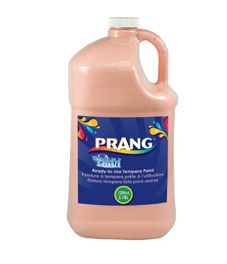 Prang Ready-to-Use Washable Tempera Paint, 1 Gallon Bottle, Peach (10611)