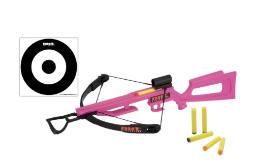 NXT Generation Crossbow and Target Kit - Accurate Crossbow Hunting Target Practice and Play set for Kids - Comes with Crossbow, Target, Hool and Loop, and Suction Cup Foam Dart Projectiles