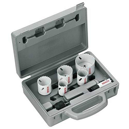 Bosch 2608584670 Hss-Bim Plumbing Holesaw Set 6-Piece Set