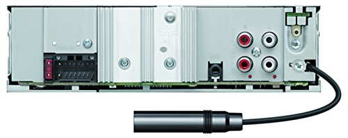 Kenwood Electronics KMM-BT504DAB Bluetooth Noir récepteur multimédia de Voiture - Récepteurs multimédias de Voiture (Noir, 1 DIN, 50 W, MOSFET, AAC,MP3,WAV,WMA, LCD)